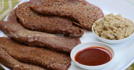 Ragi Wheat Dosa