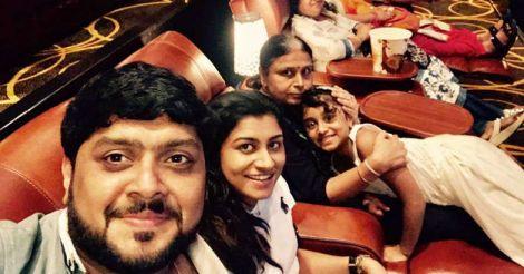 midhun-family