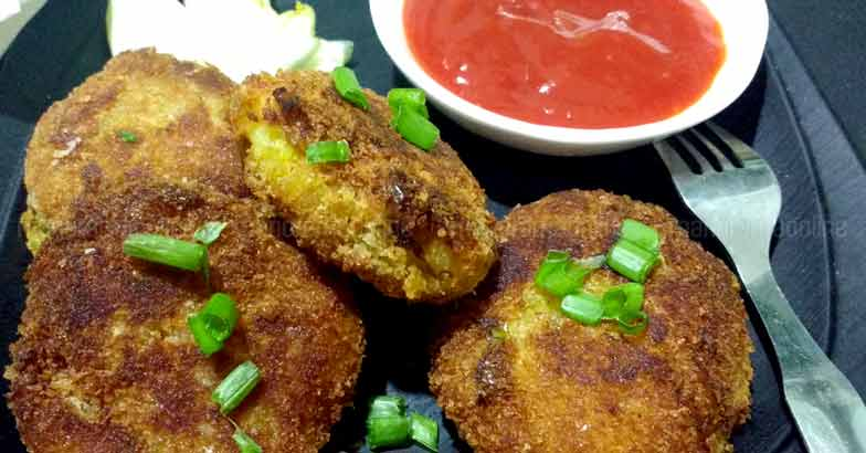 Agathi Flower Cutlet