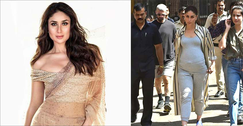 Kareena Kapoor Shoots For Good News With 'Baby Bump' In Mumbai