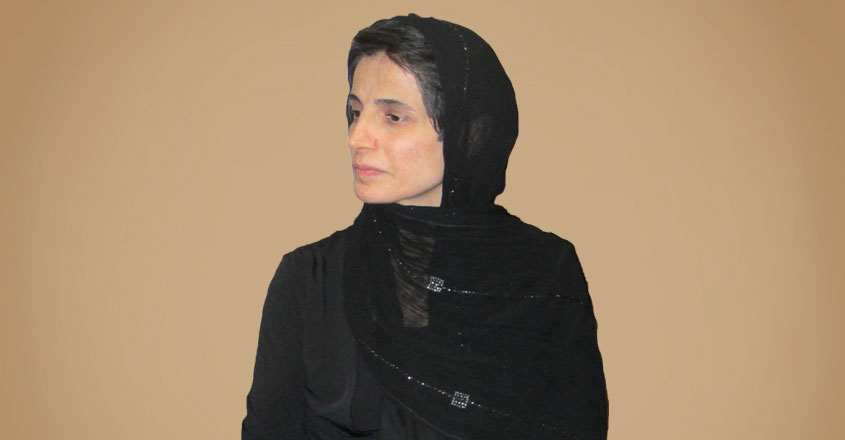 Nasrin Sotoudeh. Photo Credit : Hosseinronaghi, Wikipedia