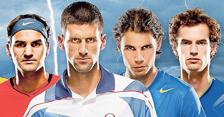 Federer-Djokovic-Nadal-Murray