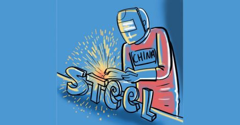 Chinese-steel-importing-affects-indian-companies