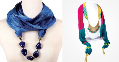 necklace-scarf-new-trend-in-fashion