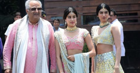 Boney Kapoor, Jhanvi Kapoor