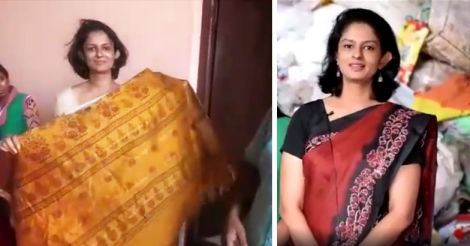 collector-vasuki-wears-used-clothes-to-promote-reuse