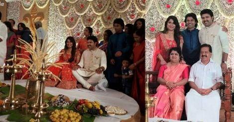 rohith-chennithala-family