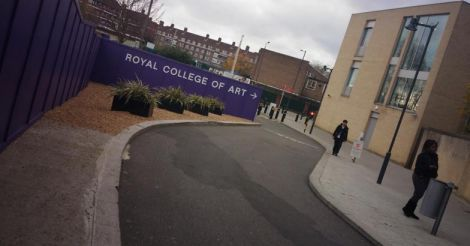 british-Way-to-Royal-college-of-art