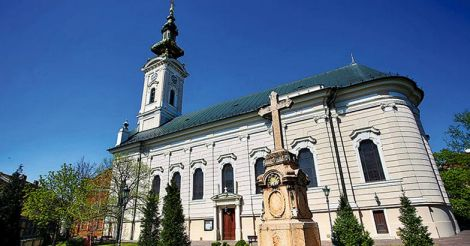 Cathedral Church of the Holy Great-Martyr George in Novi Sad, Se
