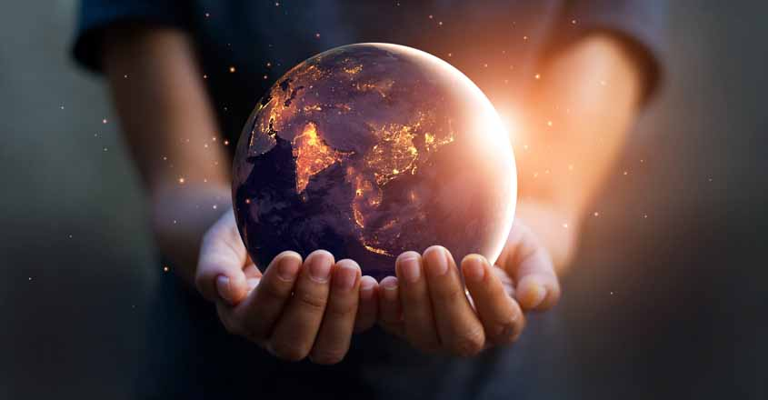 Earth-in-Hand