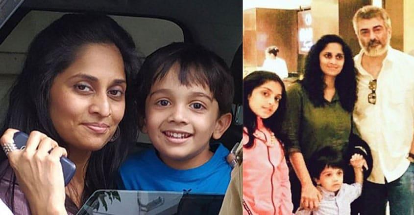 shalini-ajith-kumar-with-son-advik-viral-photo
