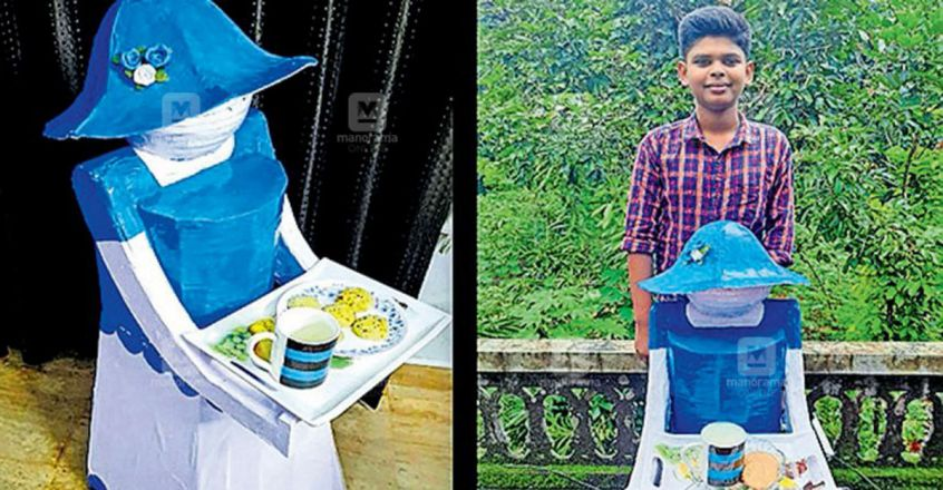 tenth-standard-student-made-a-robot-that-serves-tea-and-snacks-to-guests