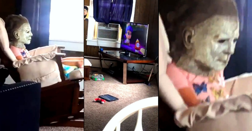 video-of-a-kid-wearing-a-scary-mask-viral