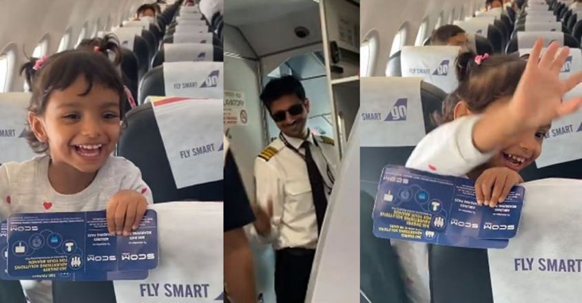 little-girl-gets-excited-to-see-father-as-pilot-on-her-flight