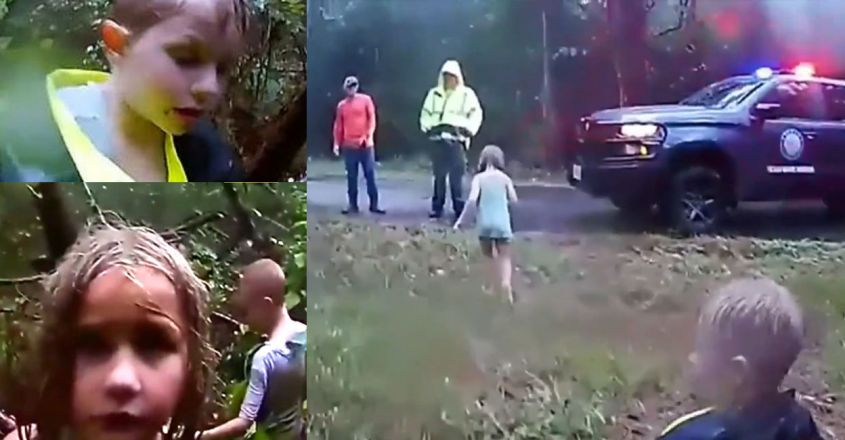 texas-police-rescue-three-children-lost-in-the-forest1
