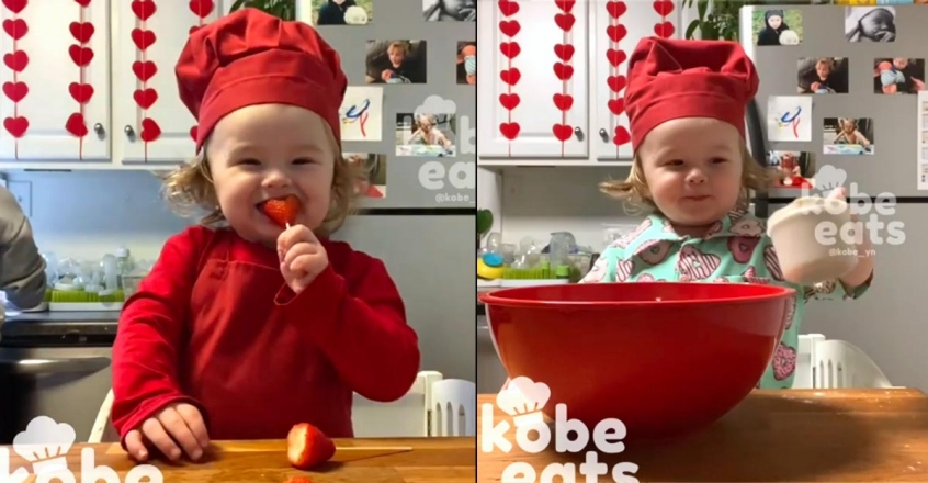 little-chef-kobe-valentine-s-day-special-cooking-viral-videos