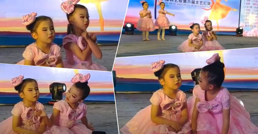 cute-little-girl-sleeping-during-dance-performance-in-china