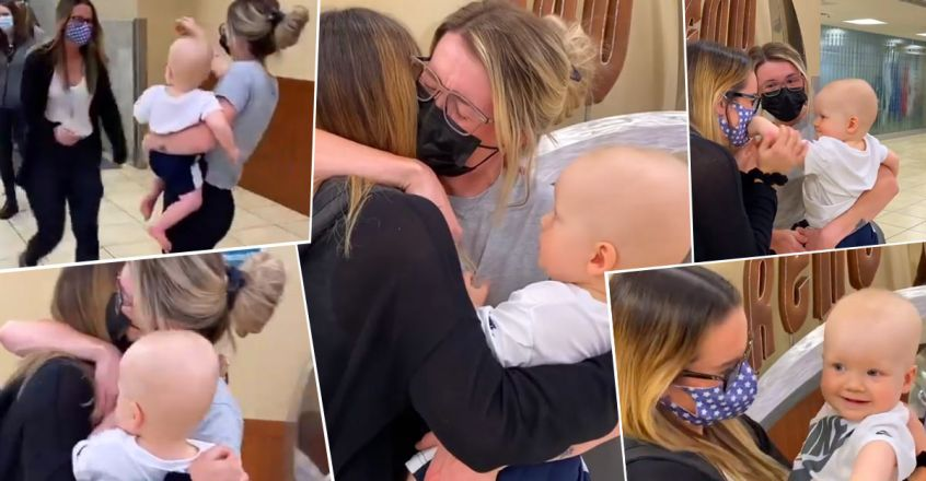 after-months-of-video-calls-aunt-meets-nephew-for-the-first-time