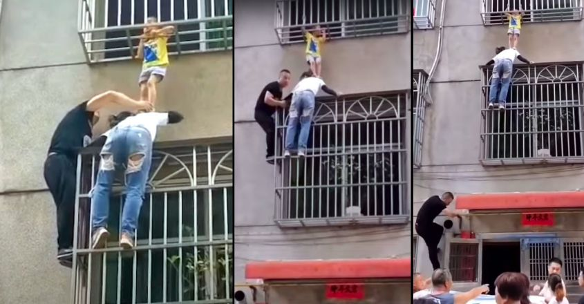 woman-iin-china-holds-up-child-dangling-from-window-railings