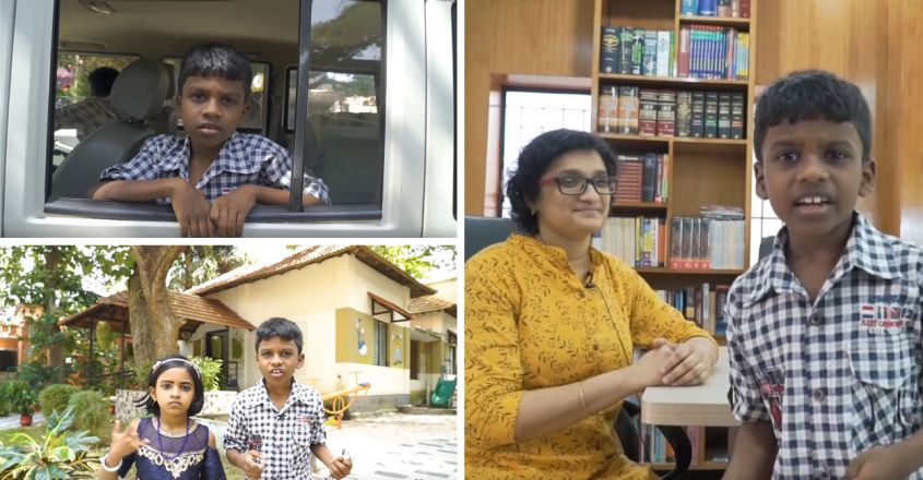 sankaran-with-kerala-police-with-tele-counseling-chiri-project-the-for-kids