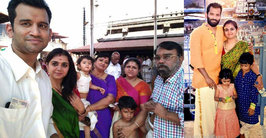 Dr. Sujakarthika With Family