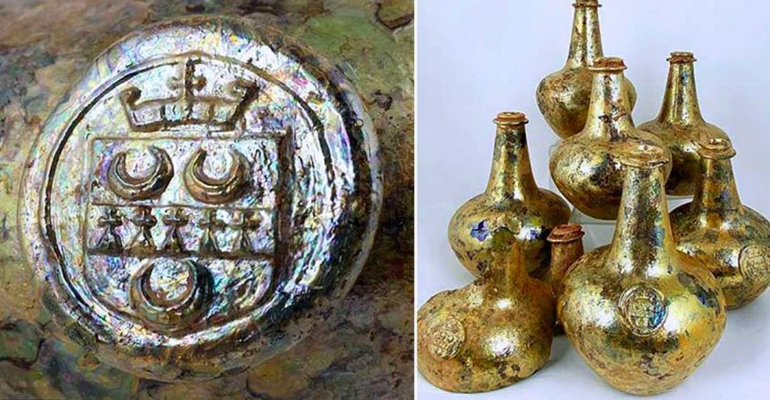 17th-century-wine-bottle-unearthed