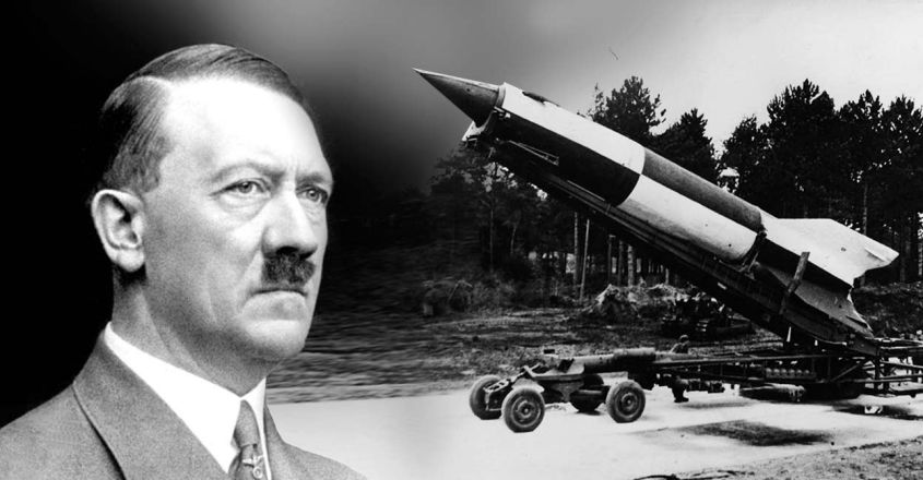 remains-of-nazi-V2-the-first-supersonic-rocket-unearthed-in-england