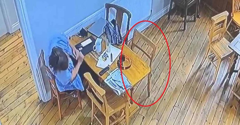 pub-ghost-moves-chair-while-woman-sat-next-to-it