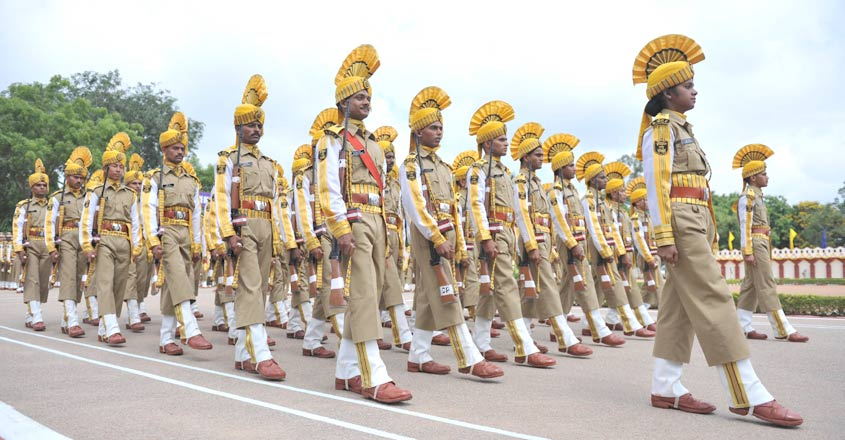 INDIA-DEFENCE-CISF-PARADE
