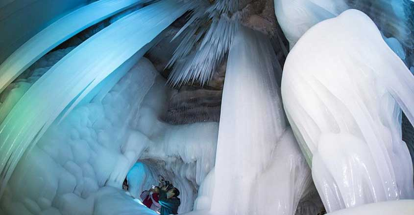 China's Ningwu Ice Cave