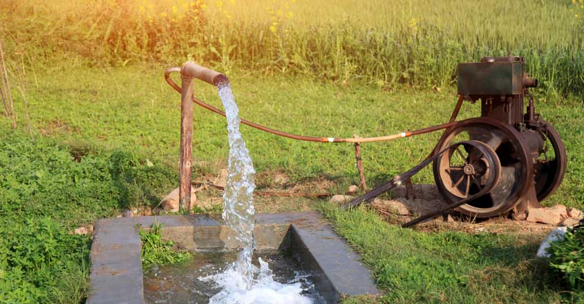 Alarming dip in groundwater level