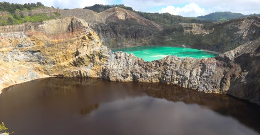 Crater Lakes of Mount Kelimutu