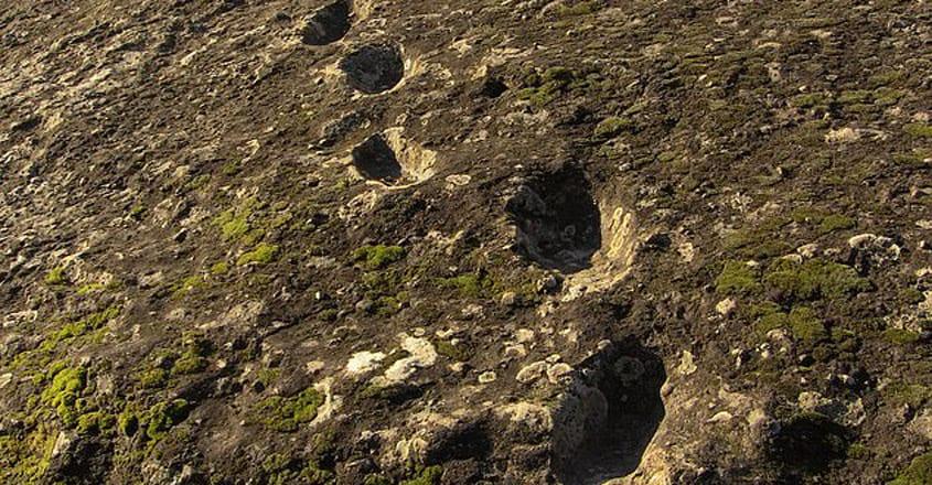 "New Footprints Found On The ""Devil's Trail"""