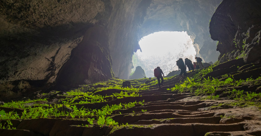 Hang Son Doong, in Vietnam