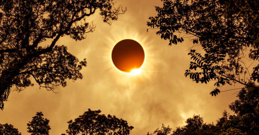 solar eclipse to be visible in Kalpetta on December 26