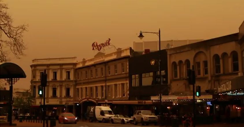 New Zealand Town Blanketed By Australian Bushfire Smoke
