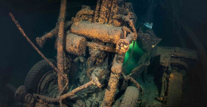 Nazi shipwreck found off Poland may solve Amber Room mystery