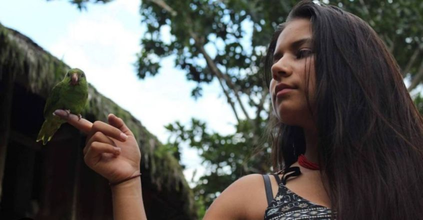 Helena Gualinga is a voice for indigenous communities in the fight against climate change