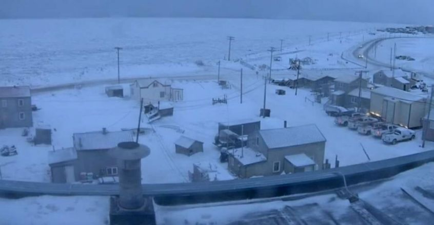 his Town in Alaska Will Not See Sunlight For Next Two Months