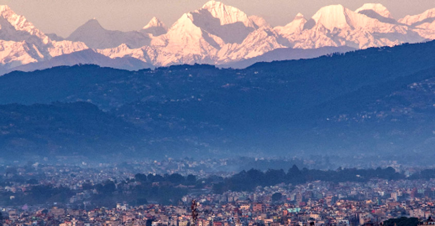 Kathmandu Gets A Glimpse Of Mount Everest From 200 Km Away
