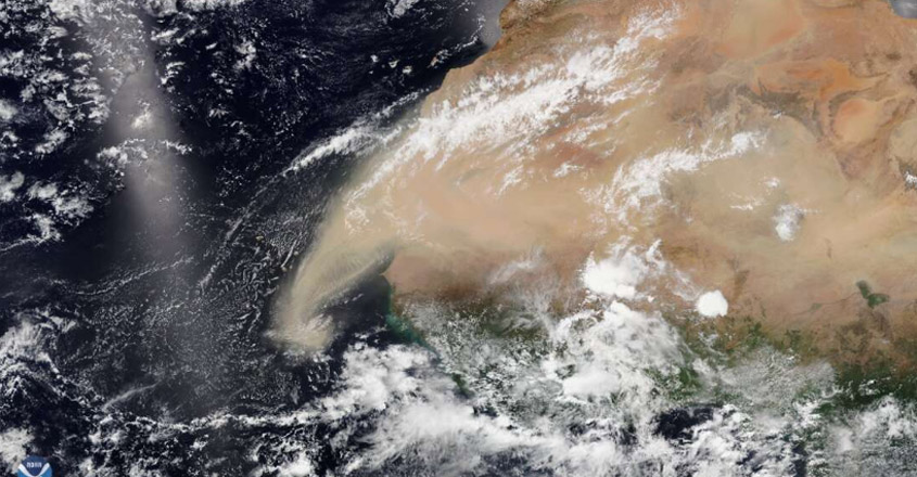 A Huge Cloud Of Dust From The Sahara Desert Could Hit The US