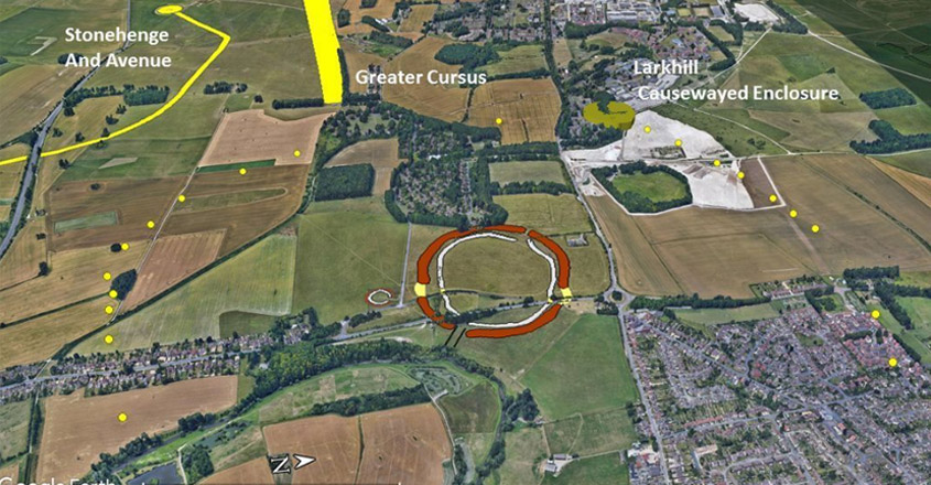 Biggest prehistoric monument in UK discovered just a stone's throw away from Stonehenge
