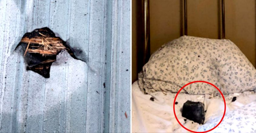 Saved By Inches: Woman Says Meteorite Crashed Through Roof, Landed On Her Bed