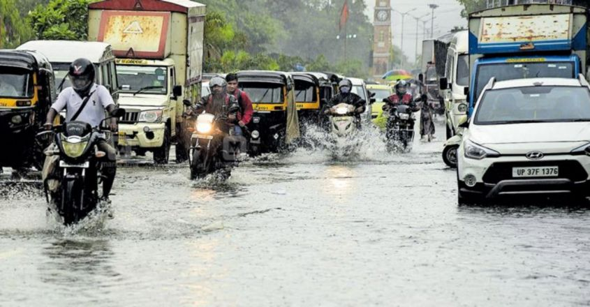 Streets, Rail Tracks Flooded in Mumbai as Monsoon Arrives with a Bang