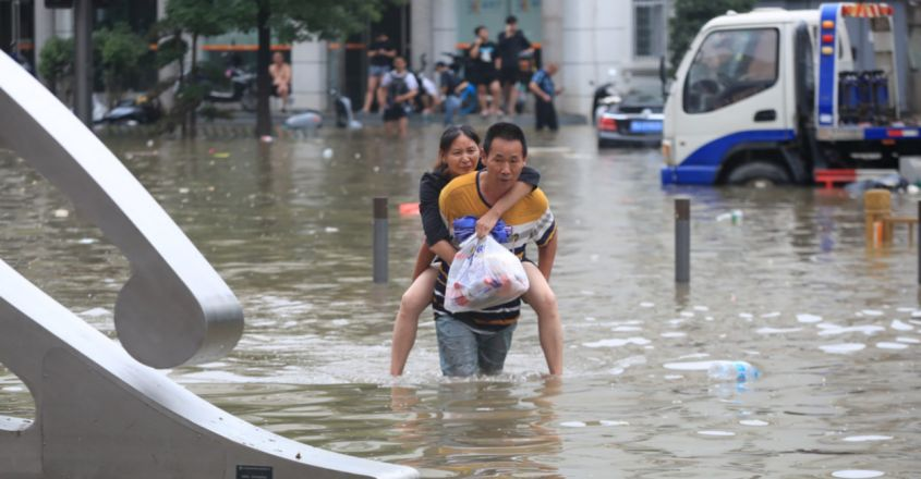Extreme weather wreaks havoc worldwide as climate change bears down
