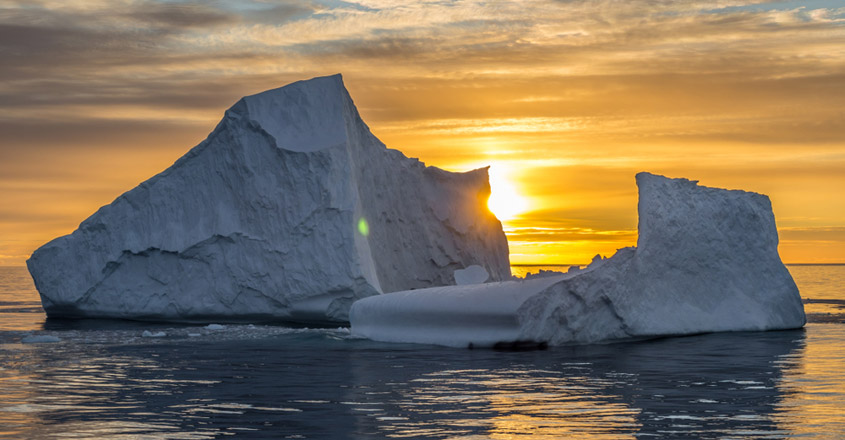 Antarctica temperature hits 65 degrees