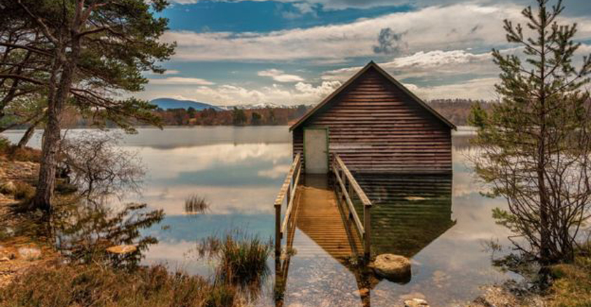 Cairngorms loch dropped to lowest level in '750 years'