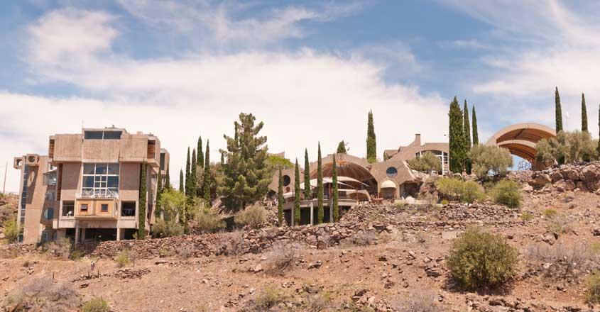 Buildings at Arcosanti