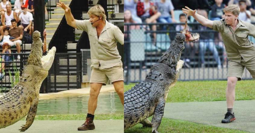 Same Place, Same Croc, 15 Years Apart: Steve Irwin's Son Recreates Picture With Crocodile