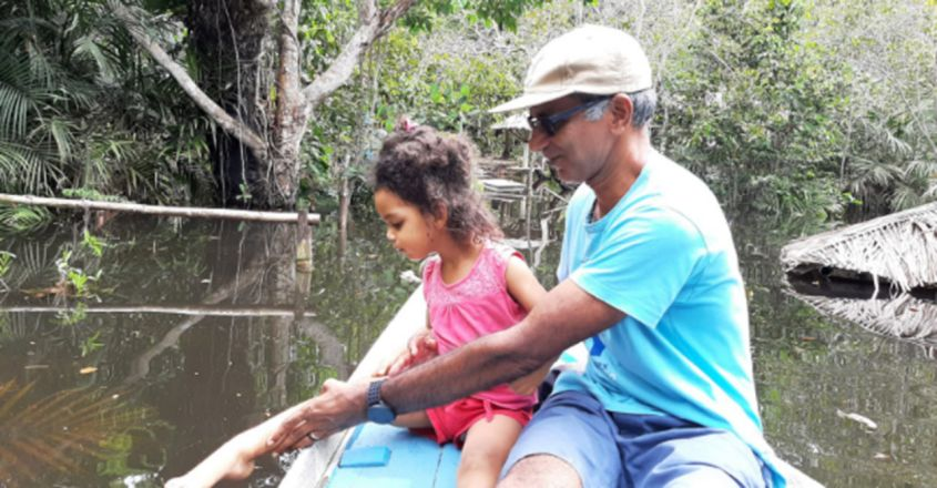 A man from Kerala has Dedicated His Life to the Cause of Amazon Forests